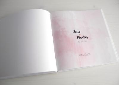 Gästebuch Innenseiten