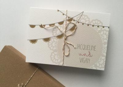 Einladung Jacqueline & Vigan