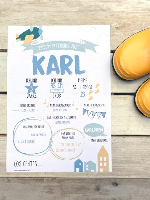 Poster Kindergarten